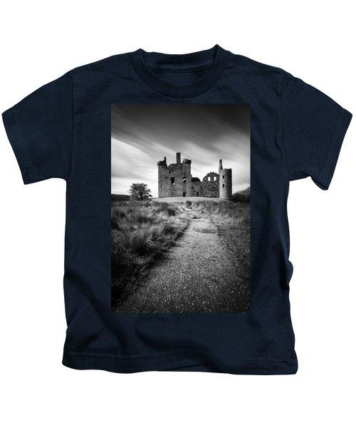 Path To Kilchurn Castle Kids T-Shirt
