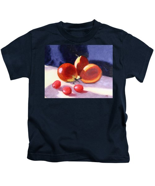 Pears And Grapes Kids T-Shirt