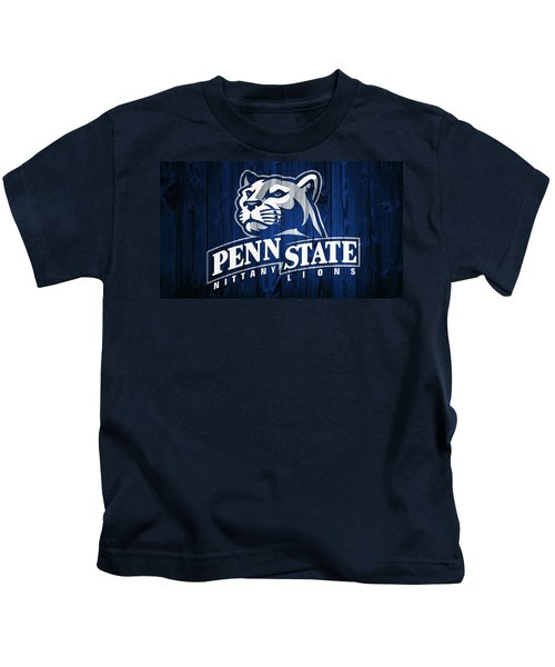 Penn State Barn Door Kids T-Shirt by Dan Sproul