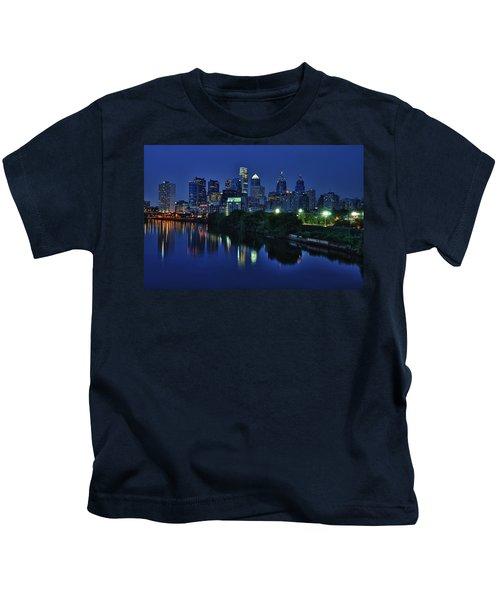 Philly Skyline Kids T-Shirt