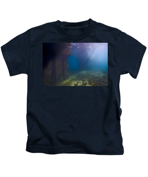 Pillars At Dawn Kids T-Shirt