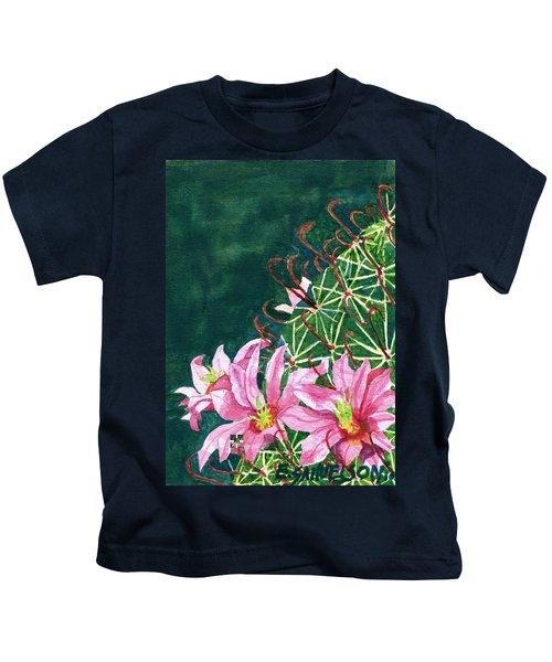 Pink Beauty Kids T-Shirt