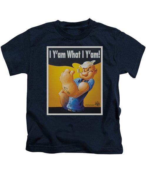 Popeye - I Can Do It Kids T-Shirt