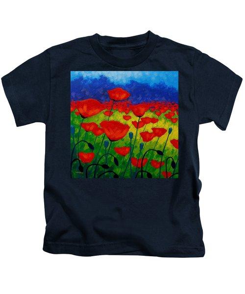 Poppy Corner II Kids T-Shirt