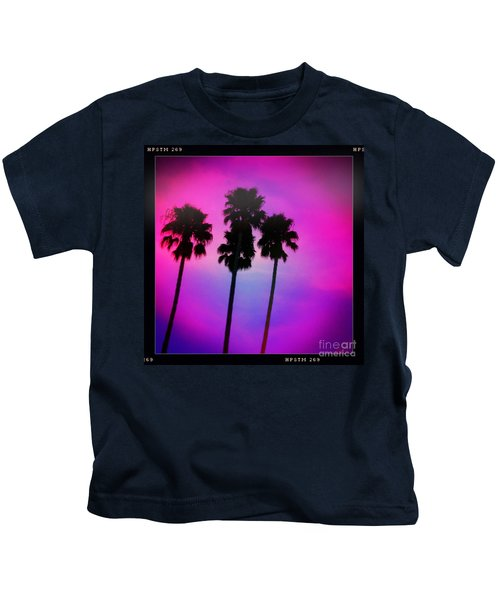 Psychedelic Palms Kids T-Shirt