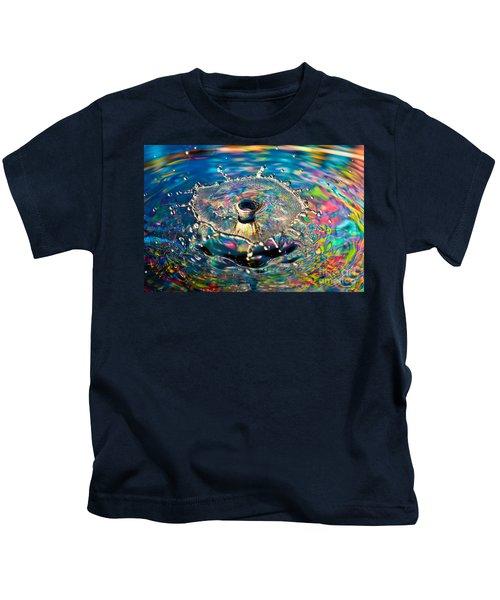 Rainbow Splash Kids T-Shirt
