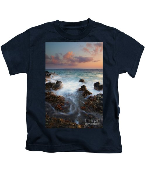 Red Sky Over Kahoolawe . .  Kids T-Shirt