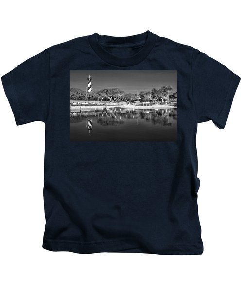 Reflecting Lighthouse  Kids T-Shirt