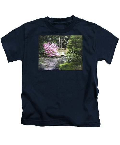 Reflections Of Spring Kids T-Shirt