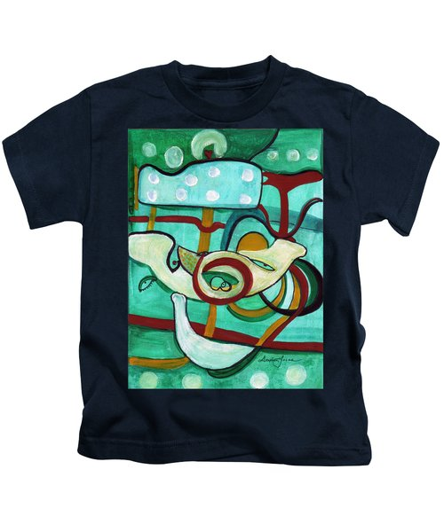 Reflective #3 Kids T-Shirt