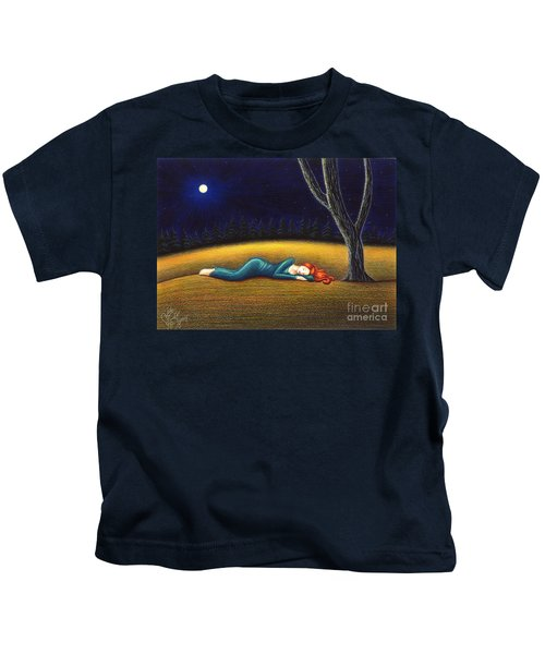 Rest For A Weary Heart Kids T-Shirt