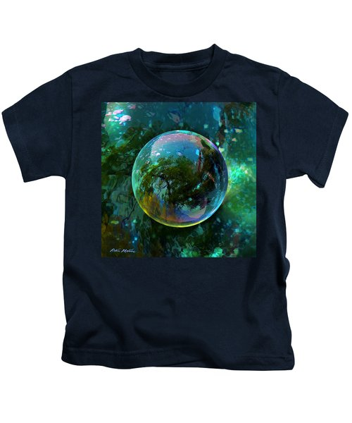 Reticulated Dream Orb Kids T-Shirt