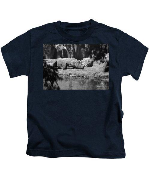 Rhino Nap Time Kids T-Shirt
