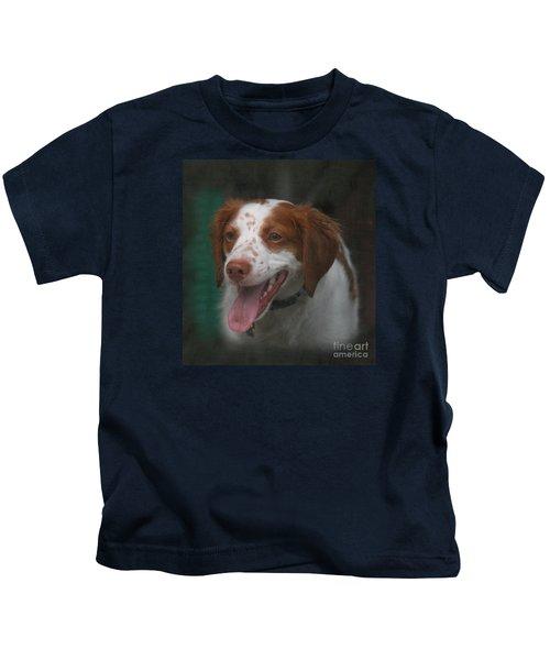 Rooney At The Back Door Kids T-Shirt