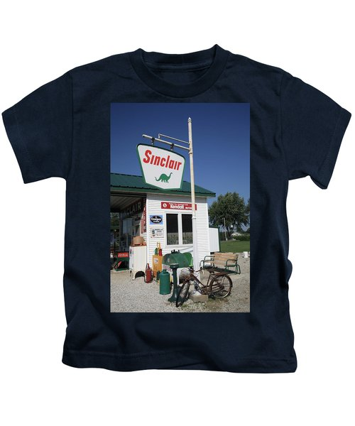 Route 66 - Sinclair Station Kids T-Shirt