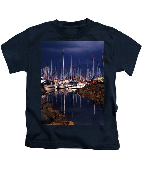 Kids T-Shirt featuring the photograph Samsoe Island Denmark by Colette V Hera  Guggenheim
