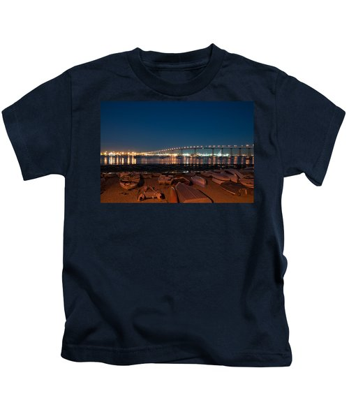 San Diego Bridge  Kids T-Shirt