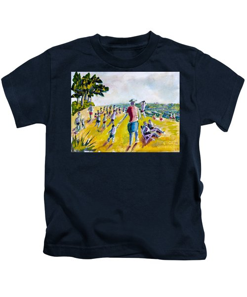 School's Out On The Beach Kids T-Shirt