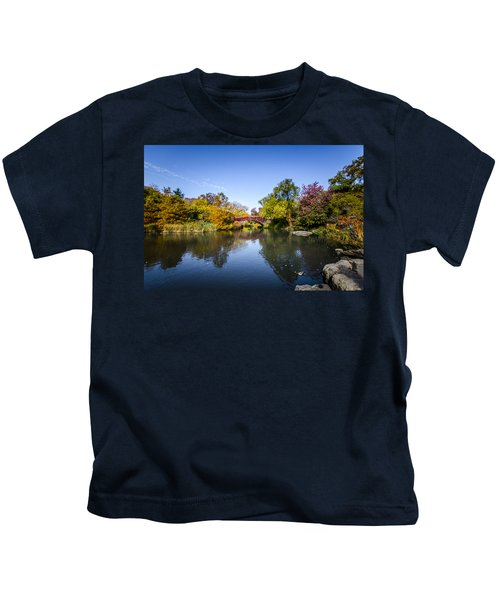 Shades Of Fall Kids T-Shirt