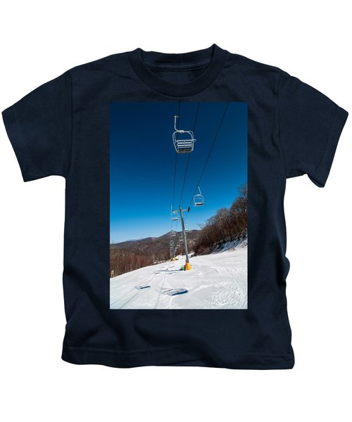 Ski Lift Kids T-Shirt
