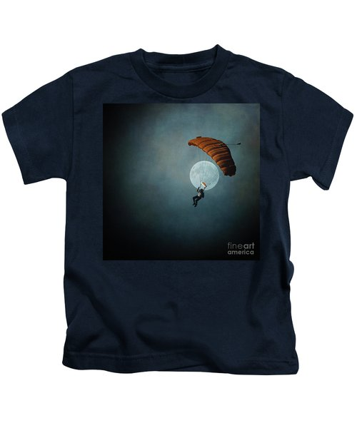 Skydiver's Moon Kids T-Shirt