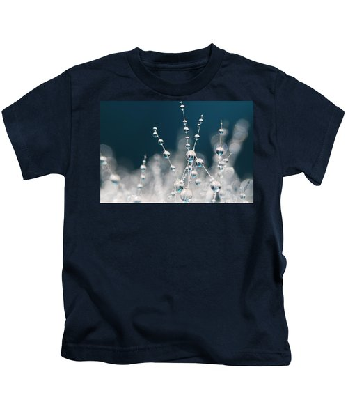 Snow White And Ice Blue Kids T-Shirt