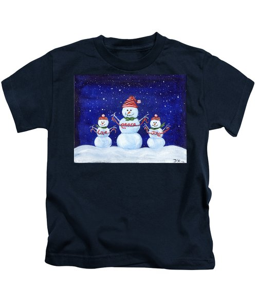 Snowmen Kids T-Shirt