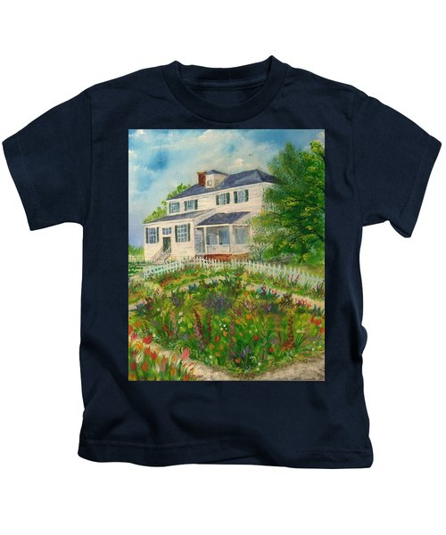 Spring In Colonial Williamsburg- Cole House Kids T-Shirt