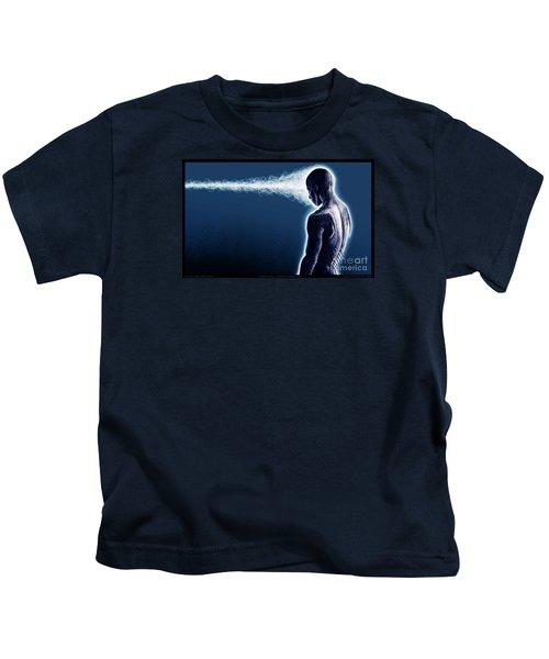 Standing Still Thoughts Proceeding Kids T-Shirt