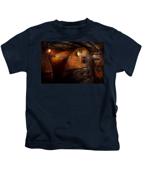 Steampunk - Plumbing - The Home Of A Stoker  Kids T-Shirt