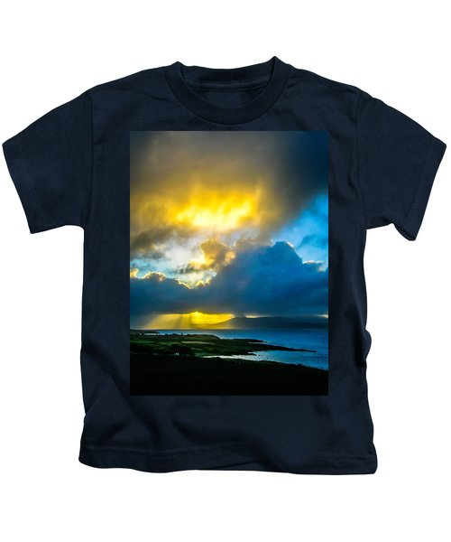 Kids T-Shirt featuring the photograph Sunrise Over Sheep's Head Peninsula by James Truett