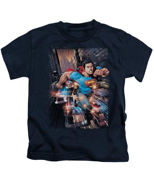 Superman - Action Comics #1 Kids T-Shirt
