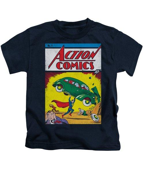 Superman - Action No. 1 Kids T-Shirt