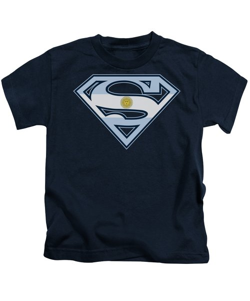 Superman - Argentinian Shield Kids T-Shirt