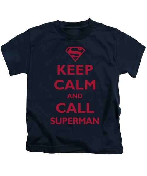 Superman - Call Superman Kids T-Shirt