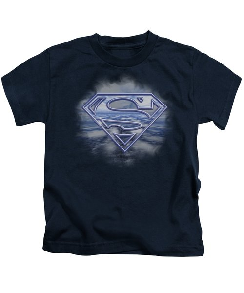 Superman - Freedom Of Flight Kids T-Shirt