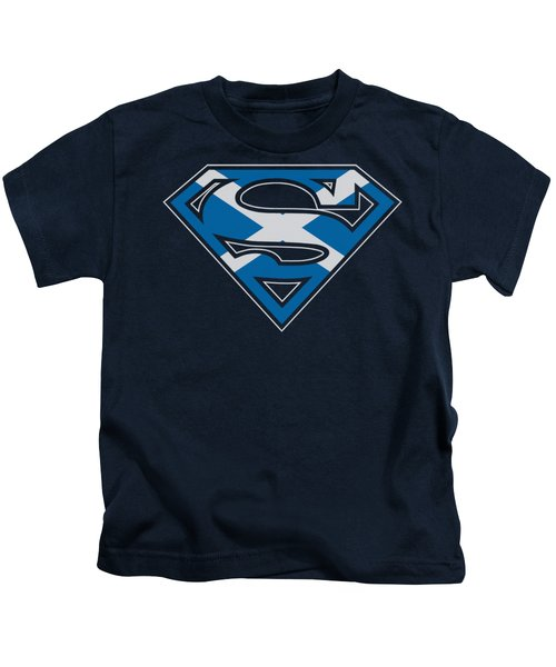 Superman - Scottish Shield Kids T-Shirt