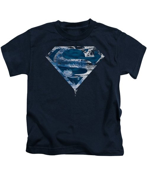 Superman - Water Shield Kids T-Shirt