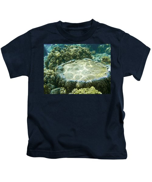 Table Top Coral Kids T-Shirt