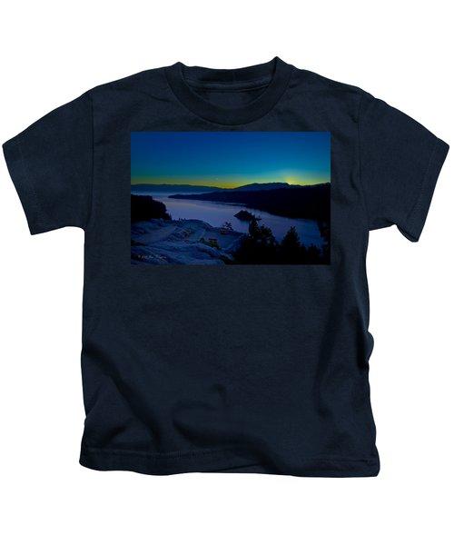 Tahoe Sunrise Kids T-Shirt