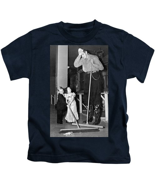 Tall And Short Of It Kids T-Shirt