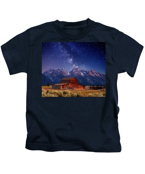 Teton Nights Kids T-Shirt