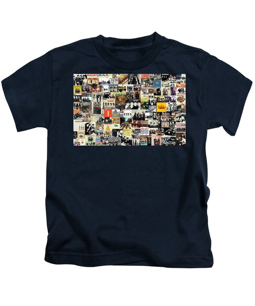 The Beatles Collage Kids T-Shirt