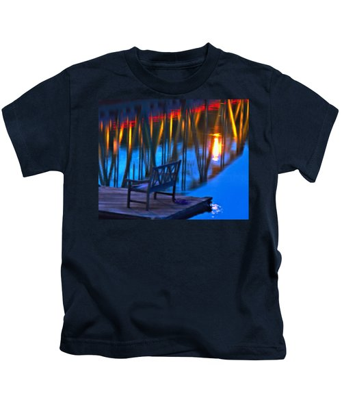 The Bidge At Sunset Kids T-Shirt