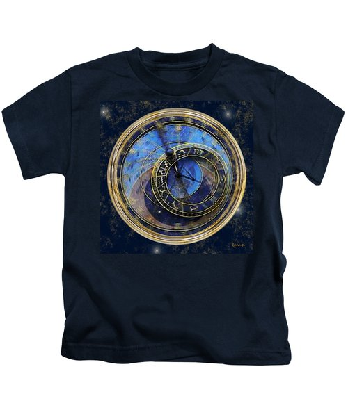 The Carousel Of Time Kids T-Shirt
