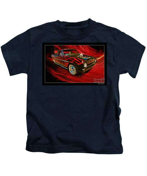The Devil's Ride Kids T-Shirt