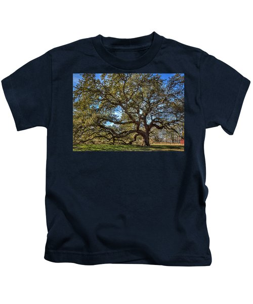 The Emancipation Oak Tree At Hu Kids T-Shirt