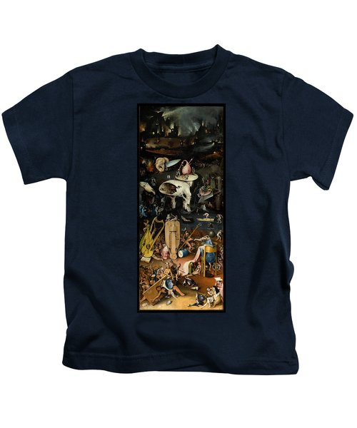 The Garden Of Earthly Delights. Right Panel Kids T-Shirt
