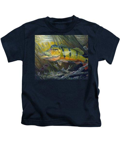 The Great Peacock Bass Kids T-Shirt