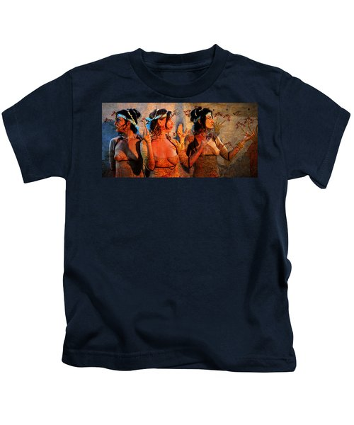 The Ladies Of Knossos Kids T-Shirt